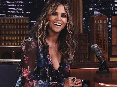 Halle Berry Wows Instagram In Nude Garden Photo From Under Mesh Netting For 'Hump Day'