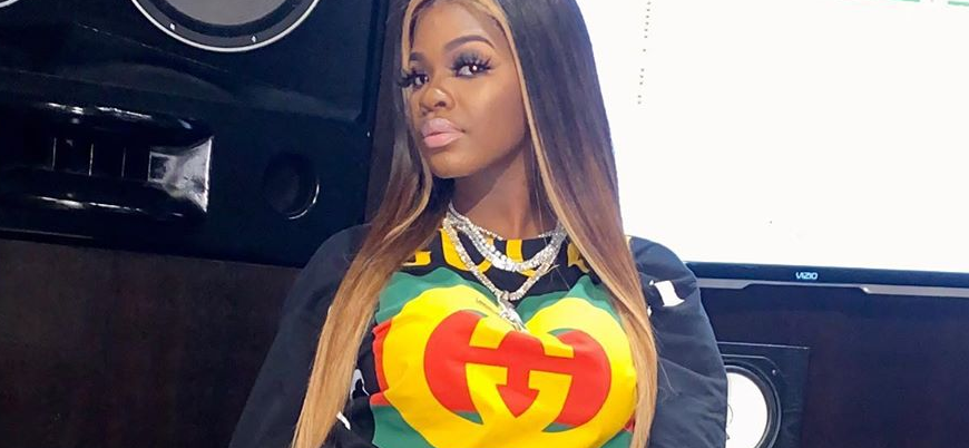 City Girls JT Looks Fly In The Studio, Days After Prison Release