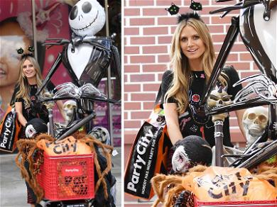 Heidi Klum Jumps into the Festive Fun with a Halloween Shopping Spree!