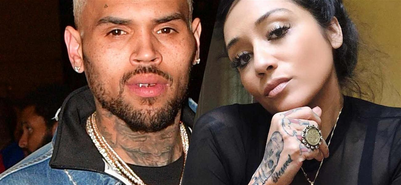 Chris Brown Reunites With Nia Guzman For Daughter Royalty's Soccer Game