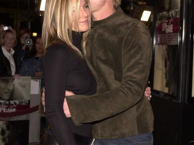Jennifer Aniston and Brad Pitt Photos!