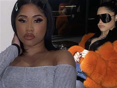 Cardi B's Sister Hennessy Carolina Drives Fans Wild In Dominatrix Gear With Zipper Butt