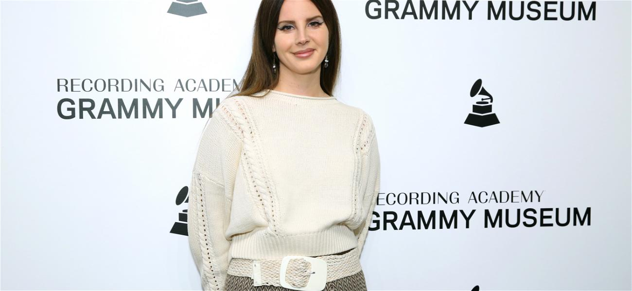 Lana Del Rey May Have Been Robbed of a Grammy, but She Won the Red Carpet with a Mall Dress