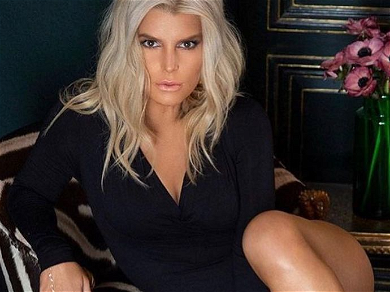 Jessica Simpson Lookin' Like a Leggy Snack After Weight Loss Worries