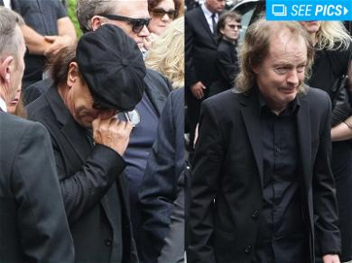 AC/DC Legends Pay Tribute to Malcolm Young at Funeral