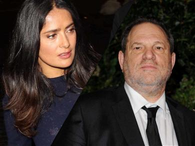 Salma Hayek Claims Harvey Weinstein Threatened to Kill Her After Refusing Advances