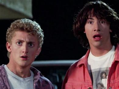 Keanu Reeves Rocks An Extreme New Look For 'Bill & Ted Face The Music'