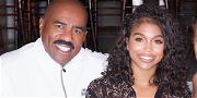 Steve Harvey Parties With Daughter Lori For Her 24th Bday With Michael B. Jordan