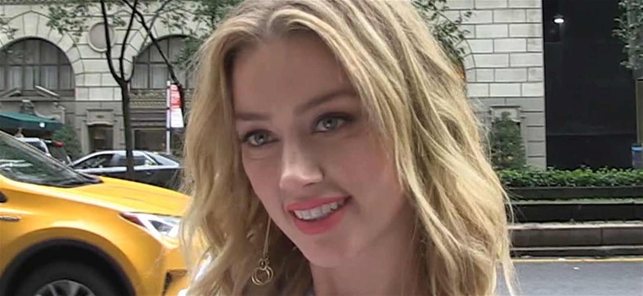 Amber Heard Stoned-Silence Over Elon Musk's Pot Smoking