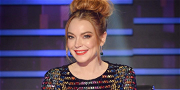 Lindsay Lohan Shakes Off 'Masked Singer' Rumors With Co-Star Dave Hughes