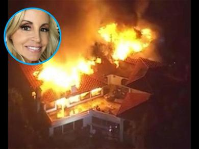 Camille Grammer Loses Malibu Home to the Wildfire: 'My House Couldn't Be Saved'