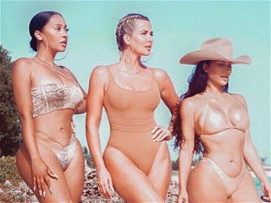 Kim Kardashian Propositions 'Charlie's Angels III' With Khloé & La La Anthony as Sidekicks