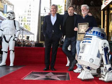 The Entire Galaxy Showed Up for Mark Hamill's Walk of Fame Star