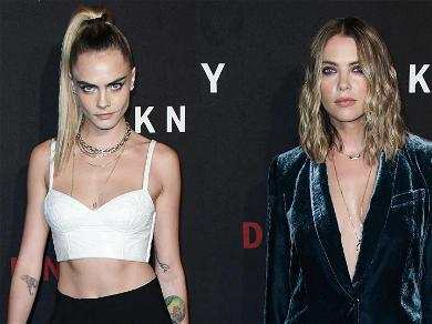 Cara Delevingne Slides Into Ashley Benson's Comments After Actress Posts Topless Shot