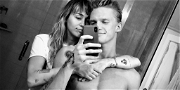 Miley Cyrus Leaves Hospital After Surgery & Immediately Falls Into Cody Simpson's Arms