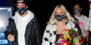 'TikTok' Star Jordyn Jones Lights Up L.A. In Leather Pants, For Launch Of 'Love You Less'