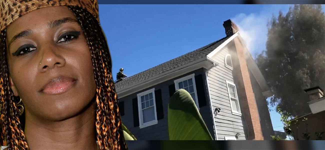 Rapper Santigold's L.A. Mansion Catches Fire, Crews on Scene Putting Out Blaze