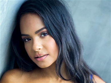Christina Milian CRUSHES In Skintight Mini-Dress With No Visible Undies!