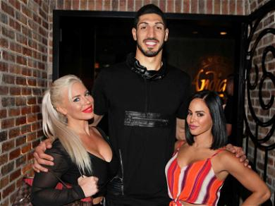 NY Knicks Star Enes Kanter Continues Rumored Romance with WWE Star in Las Vegas