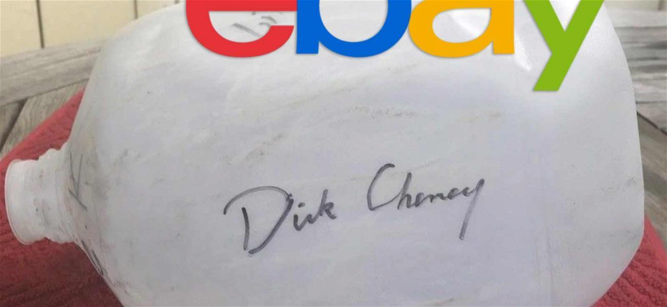 Dick Cheney 'Waterboard Kit' back on eBay as Bids Reach $3K