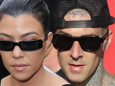 Kourtney Kardashian Packs On The Bikini PDA With Travis Barker