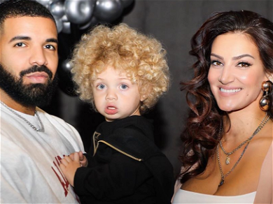 Drake Shows Off First Photos With 2-Year-Old Son Adonis