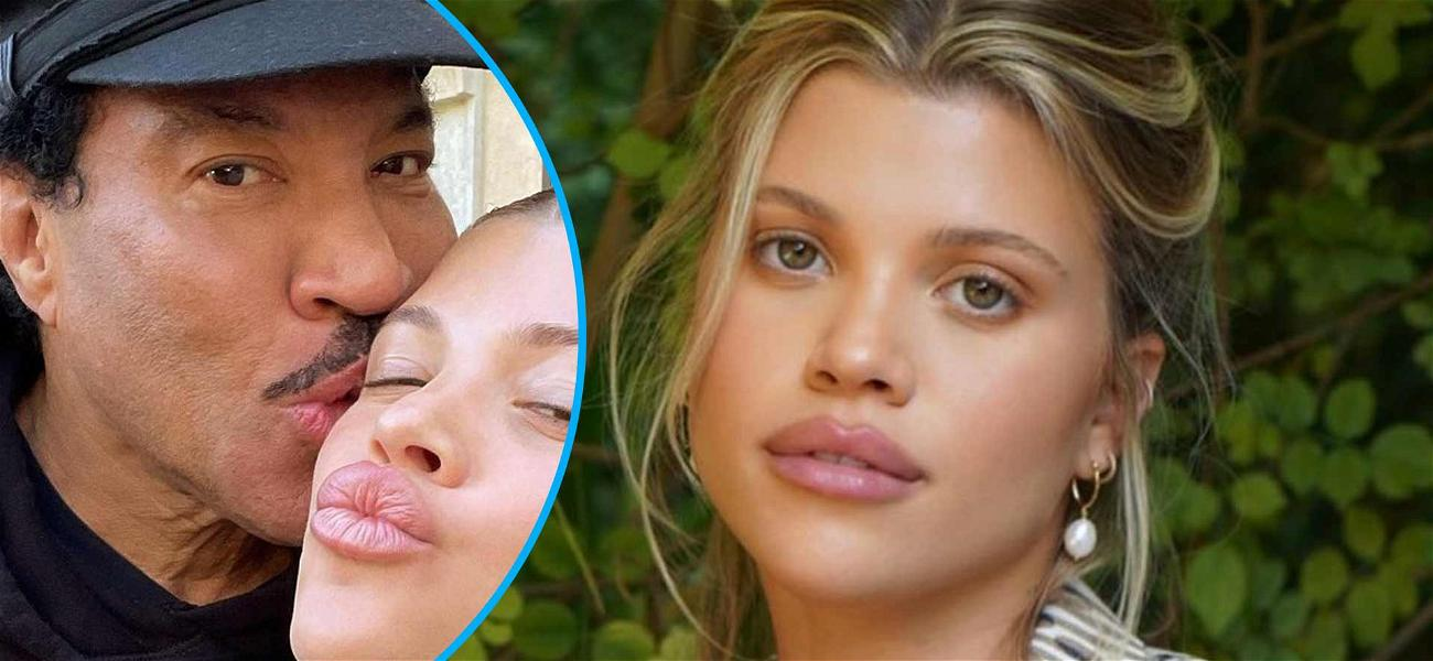 Sofia Richie Shares 'Double Trouble' Selfies With Dad Lionel For Rare Family Snaps