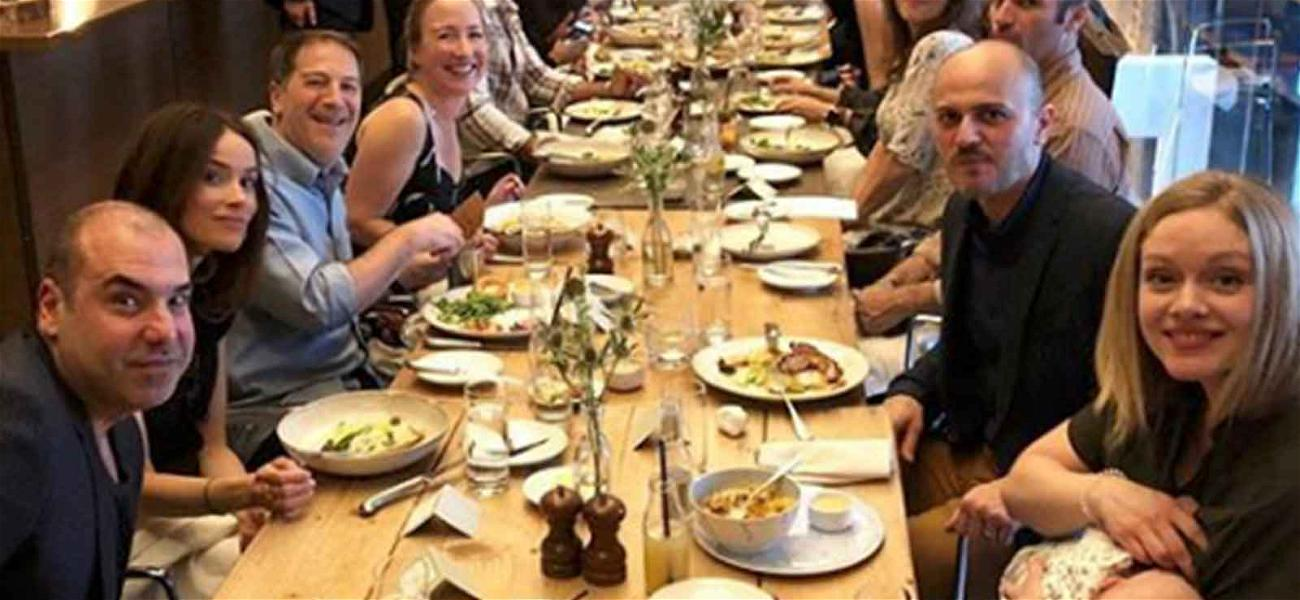 'Suits' Cast Has Last Supper Together Before Former Co-star Meghan Markle's Royal Wedding
