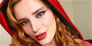Bella Thorne Is XXX 'Little Red Red Riding Hood' In Miniscule Spandex