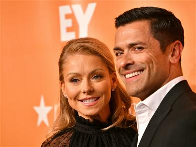 Mark Consuelos Fights For His Son During A Wrestling Match!