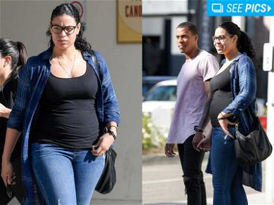 Jordin Sparks Proudly Rocks Her Baby Bump … Take That, Khloé and Kylie!