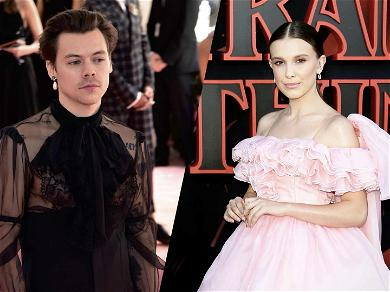 Harry Styles and Millie Bobby Brown Spotting Dancing Together at Ariana Grande's Concert