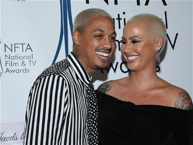 Amber Rose Gets a Shocking Tattoo on Her Face In Honor of Her Kids.