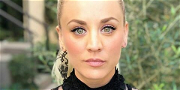 Kaley Cuoco Gives Herself Ab Envy In Spaghetti Straps