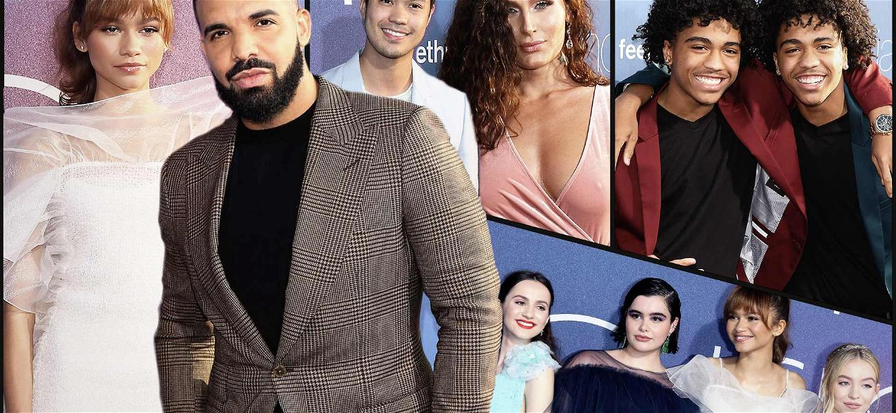 Drake Ignores Curse to Support HBO Series Premiere of 'Euphoria'