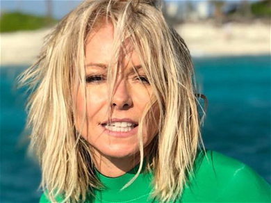Kelly Ripa Sandwiched Between Two Hunks: 'Daddy's Home'