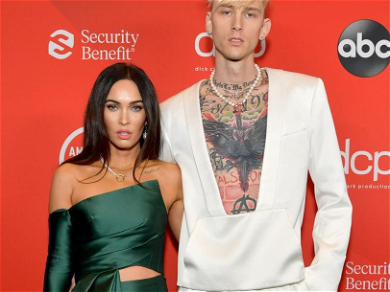 Megan Fox Is Red Carpet Official With Machine Gun Kelly At 'AMA's!'