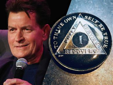 Charlie Sheen: I'm One-Year Sober from Drugs & Alcohol
