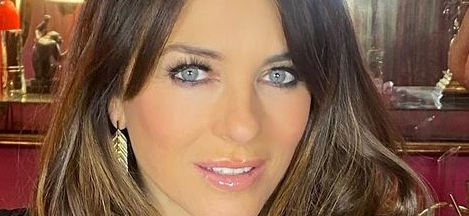 Elizabeth Hurley's Cleavage Causes Distraction In Plunging Dress