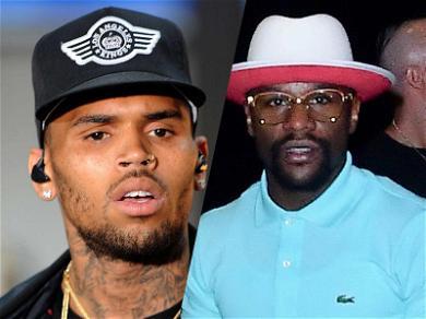 Floyd Mayweather Gave Chris Brown's Baby Mama $20,000 'Gift'