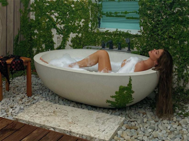 Kylie Jenner Shares Mind-Blowing Bathtub Photos From Tropical Birthday Getaway! — See The Pics!