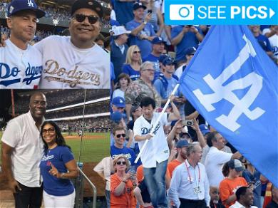 Hollywood Catches True Blue Fever at World Series