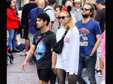 Joe Jonas and Sophie Turner Cheers to Disney With Delicious Rare Wine