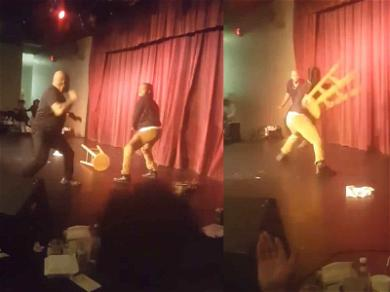 Stand-Up Comic Attacked On Stage With His Own Mic Stand
