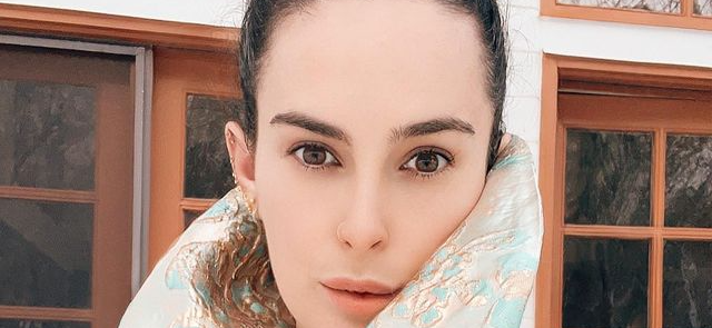 Rumer Willis Sparks Joy In Sheer Dress During House Cleaning