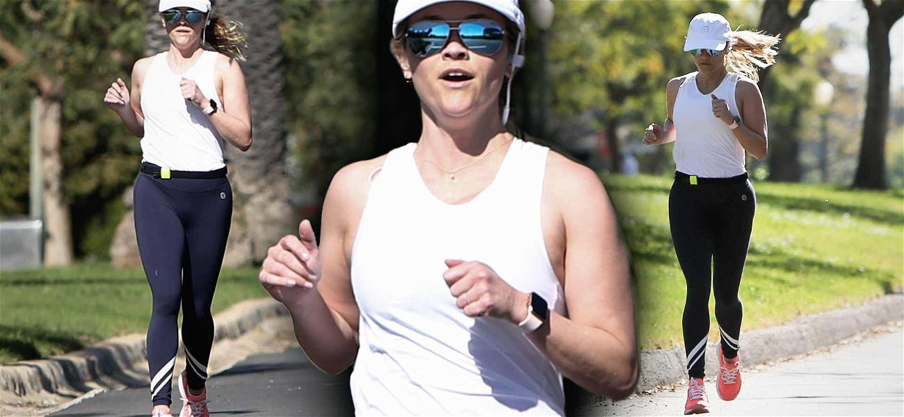 Reese Witherspoon Works it Out Ahead of Grueling Production Schedule