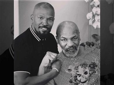 Mike Tyson Biopic Starring Jamie Foxx Is 'One Step Closer' After Stars Meet Up