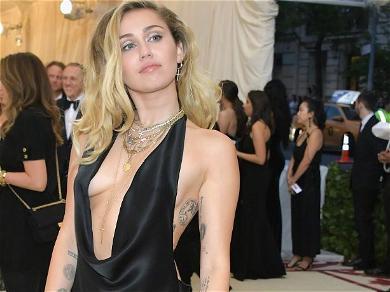 Miley Cyrus Keeps It Braless At CVS