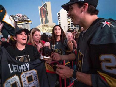 Vegas Golden Knights Fans Hit the Jackpot, Team Mixer with Champs