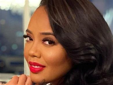 Angela Simmons Highlights Apple Bottom With Heavy Rear View